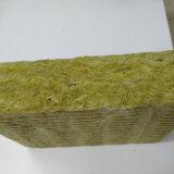 Materiales de basalto 30mm - 100mm de espesor de pared exterior del precio de lana de roca