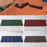 インドネシアの市場の石造りの上塗を施してある金属のAltusaの屋根瓦
