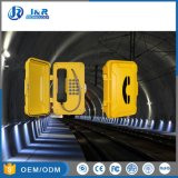 VoIP/SIP im Freien Notruftelefone, Tunnel-Telefon, Telefon der GSM/3G Datenbahn-PAS