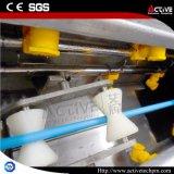 Ligne simple de boudineuse à vis de pipe de HDPE