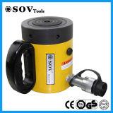 Cylindre hydraulique à simple effet avec l'écrou de blocage Cll-2002