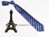 Impressão personalizada barata 100% gravata de seda