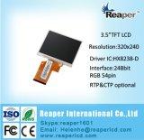 """L'écran TFT LCD 3,5""""320*240 54pin Module TFT LCD industrielle de l'écran tactile en option"""