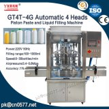 Automatic 4 Heads Bottling Filling Machine for Sauce (GT4T-4G1000)