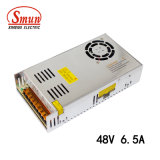 Smun S-320-48 320W 48VDC 6.5A Ce/EMC 증명서 엇바꾸기 전력 공급