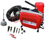 Spitzenverkaufs-elektrische Schlange-Rohr-Abfluss-Reinigungs-Maschine verstopft bis 6 Zoll (D150)