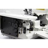 Intertravamento de alta velocidade de acionamento direto (máquina de costura com aparador automático)