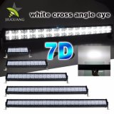 "7D weißes Querlicht Auge winkel 2row 22 "" DRL LED Stab, 120W SUV LED heller Stab"