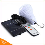 Super brillante LED regulable de 20 de la luz solar con Control Remoto de 1W con decoración de Jardín de la luz de panel solar