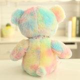 L'ours en peluche Rainbow Teddy moelleux Fancy Jumbo cadeau Jouet souple