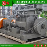 Qualitätsschrott/Abfall/verwendeter Reifen, der Maschine für die Wiederverwertung des Gummireifens zerquetscht