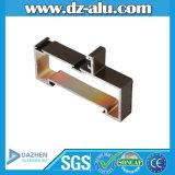 Perfil de aluminio de la fábrica de Foshan Guangzhou para las muestras libres del molde del mercado de Suráfrica