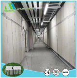 El panel de pared compuesto del cemento de la fibra del emparedado de la cámara fría del aislante de calor