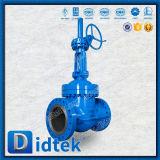 Válvula de puerta de cuña de Didtek Wc6 con la válvula de derivación