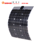 Comitato solare monocristallino flessibile caldo di vendita 50W