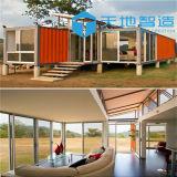 速いアセンブリ取り外し可能な家、現代デザイン輸送箱40フィート、プレハブの容器の家