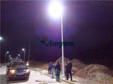 Todos de alta potência em uma luz de rua LED solar integrada