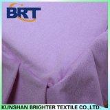 Terry poliéster algodón resistente al agua de tela hoja montada