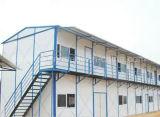 Schneller Aufbau-vorfabriziertes Gebäude-Grundbesitz-Fertighaus-Haus