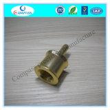 China CNC die de Precisie die van de Winkel machinaal bewerken de Gouden Kleur Geanodiseerde Schakelaar van het Aluminium machinaal bewerken