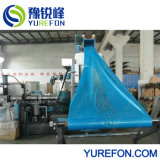 PP/PE/LDPE/HDPE 필름 & 길쌈된 부대 단일 나사 압출기 물 반지 플라스틱 재생 제림기