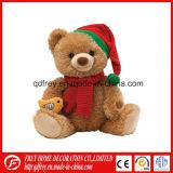 Adorável Ursinho de brinquedos para bebés com camisola T