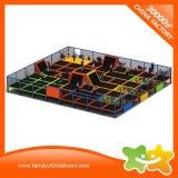 Sosta del trampolino della strumentazione del trampolino di forma fisica di divertimento dei bambini con rete
