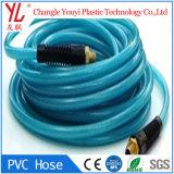 Tresse coloré en PVC renforcé de gaz en plastique flexible à air