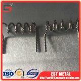 Collegare personalizzato del wolframio del trefolo del tungsteno del collegare di tungsteno 99.95%