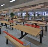 Сжатые таблица и стулы трактира кафетерия