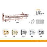 최신 판매 싼 2중 수건 선반 목욕탕 알루미늄 선반 (C6108B)