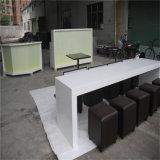 긴 대중음식점 Corian 인공적인 돌 단단한 지상 테이블 가구