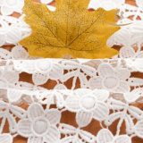 Tessuto organico del merletto della guipure del cotone di vendita della maglia del ricamo superiore di cerimonia nuziale