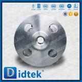 La palanca de Didtek de acero inoxidable de alta presión de una válvula de bola flotante105.