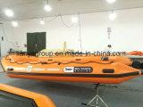 Liya 2-6.5m Gummiboots-Preis-aufblasbares Rettungsboot für Verkauf