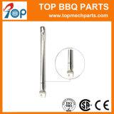 Acero inoxidable 14051 personalizado Stright Gill el tubo de quemador de gas de forma