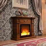 Bordure normale simple de cheminée en pierre, mantel de cheminée, cheminée d'intérieur
