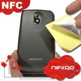 ¡Promoción! ¡! ¡! Ntag213 etiqueta adhesiva de la etiqueta engomada del papel revestido NFC del diámetro 25m m