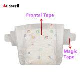 試供品の工場在庫によって甘やかされる使い捨て可能な赤ん坊のおむつの/Materiaの文書Softcare