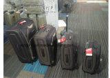 Bagagli della valigia del carrello dei sacchetti dei bagagli di corsa del tessuto 3PCS impostati con 4 rotelle del filatore