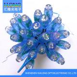 lampe d'exposition bleue de la lampe DEL de chaîne de caractères de couleur de 12mm