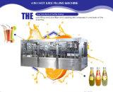 Cadena de producción automática del relleno en caliente del jugo de Furit