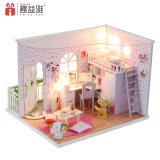 Wooden Fraud House 2018 Happy Familiy Together DIY Gift