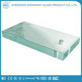 Lamelliertes ausgeglichene Kunst-dekoratives Glas für Swimmingpool trocknen