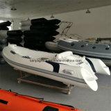 Liya 3.8m Boot van de Cruise van de Rib van de Boot van Hull van de Glasvezel de Stijve Opblaasbare