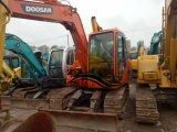 Di costruzione del macchinario originale Corea di Doosan di seconda mano/usato Dh80 del cingolo dell'escavatore mini dell'escavatore di Doosan