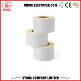 Collant thermique utile de papier pour étiquettes de transfert
