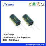 105c de Hoge Frequentie van de Condensator van het 5000hours250V Aluminium 100UF