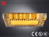Decken-Lampe mit Kristalldekoration