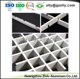 Fabricante de aluminio decorativo techo de la cuadrícula de célula abierta para el Centro Comercial